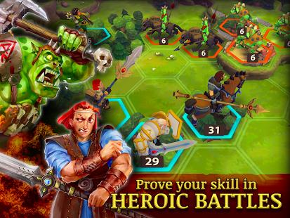 بازی اندروید جنگ سالاران - Warlords