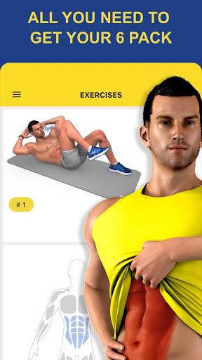 نرم افزار اندروید تمرین - تناسب اندام روزانه - Abs Workout - Daily Fitness