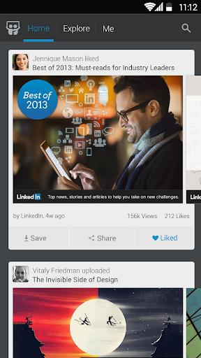 نرم افزار اندروید اشتراک گذاری لینکدین - LinkedIn SlideShare
