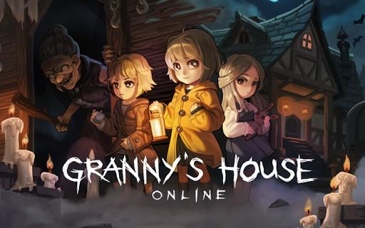 بازی اندروید خانه مادر بزرگ -چند نفر فرار می کنند - Granny's house - Multiplayer escapes