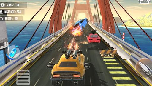 بازی اندروید راه نبرد مسابقه مرگ - Death Race Road Battle