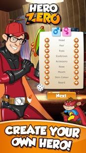 بازی اندروید هیرو زیرو - چند نفره - Hero Zero Multiplayer RPG