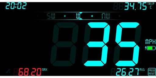 نرم افزار اندروید سرعت سنج دیجی هود - DigiHUD Speedometer