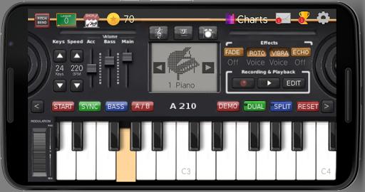 نرم افزار اندروید صفحه کلید موزیک - Music Keyboard