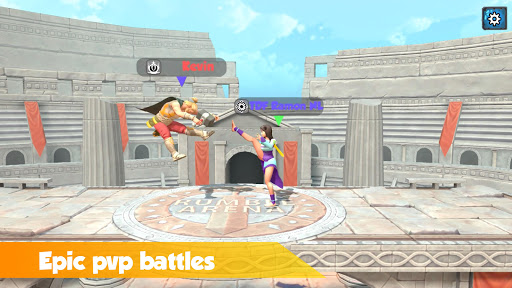 بازی اندروید غریدن آرنا - افسانه عالی - Rumble Arena - Super Smash Legends