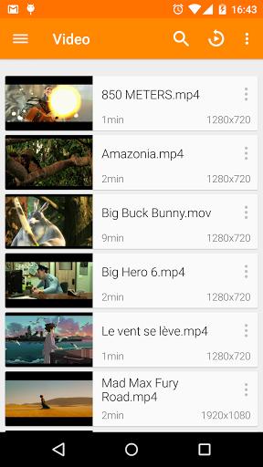 نرم افزار اندروید وی ال سی - VLC for Android