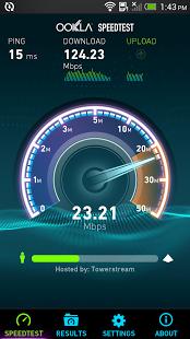 نرم افزار اندروید تست سرعت اینترنت - Speedtest.net