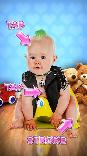 بازی اندروید صحبت بچه - Talking Baby