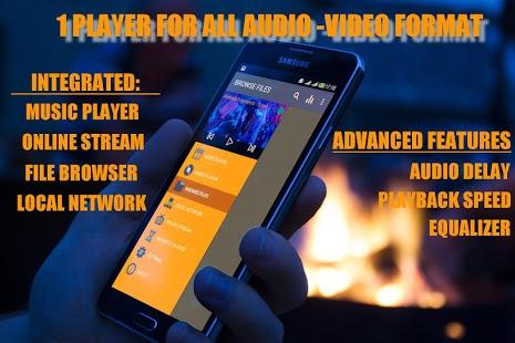نرم افزار اندروید پخش کننده ویدیو - All Format Video Player (HD)