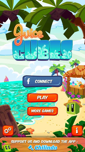 بازی اندروید مکعب آب میوه - Juice Cubes