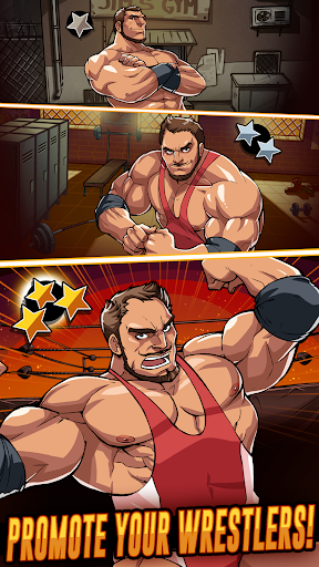 بازی اندروید فشار عضلانی کشتی - The Muscle Hustle: Slingshot Wrestling