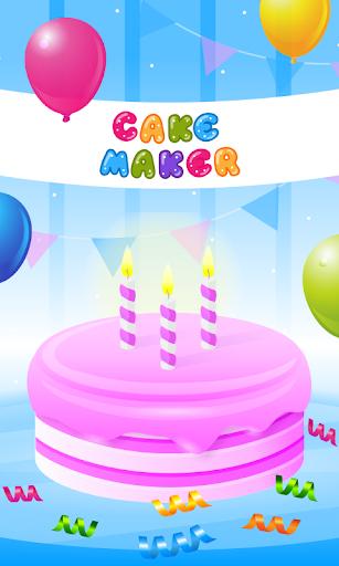 بازی اندروید کیک ساز بچه ها - بازی پخت و پز - Cake Maker Kids - Cooking Game