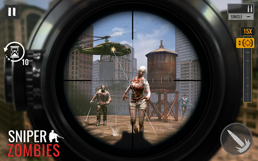 بازی اندروید  تیرانداز از خفا زامبی - Sniper Zombies: Offline Game