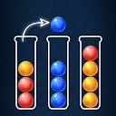بازی پازل مرتب کردن توپ رنگی - بازی مرتب سازی حباب دینو