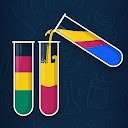 مرتب کردن پازل آب - بازی مرتب سازی مایع رنگی