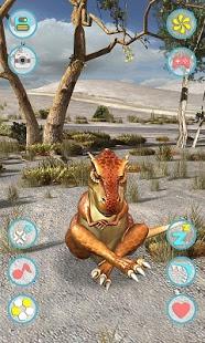 نرم افزار اندروید دایناسور تیرانوساروس سخنگو - Talking Tyrannosaurus Rex