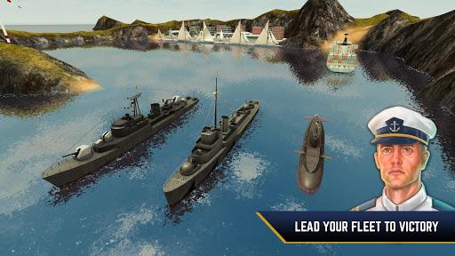 بازی اندروید دشمن آبی - جنگ زیر دریایی با کشتی جنگی - Enemy Waters : Submarine and Warship battles