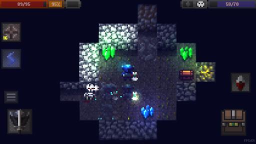 بازی اندروید غارهای روگوئلیکه - Caves (Roguelike)