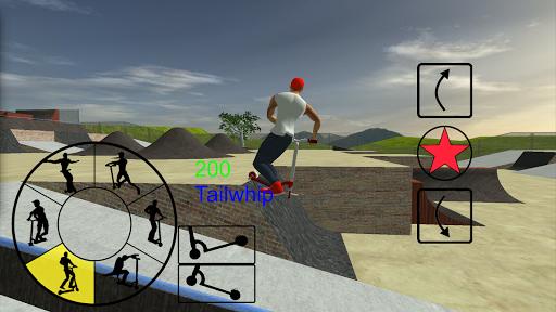 بازی اندروید اسکیت سواری آزاد - Scooter Freestyle Extreme 3D
