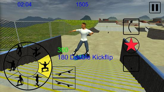 بازی اندروید اسکیت سواری آزادانه - Skating Freestyle Extreme 3D