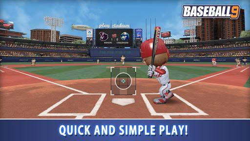 بازی اندروید بیسبال 9 - BASEBALL 9