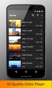 نرم افزار اندروید ویدیو پلیر - Video Player HD